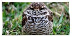 Owl. Best Photo Hand Towel by Oksana Semenchenko