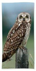 Owl See You Bath Towel