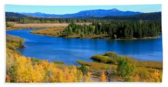Oxbow Bend, Grand Teton National Park Bath Towel