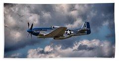 P-51 Mustang Bath Towel