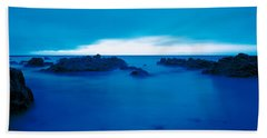 Pacific Coast Monterey Ca Usa Bath Towel