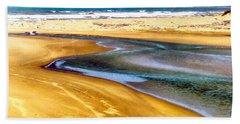 Pacific Ocean Beach Santa Barbara Hand Towel