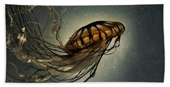 Pacific Sea Nettle Hand Towel