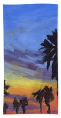 Pacific Sunset 2 Hand Towel