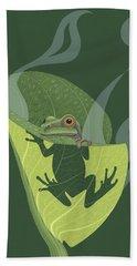 Amphibians Hand Towels