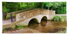 Pack Horse Bridge Hand Towel