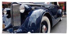 Packard 1207 Convertible 1935 Bath Towel by John Schneider