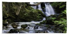 Packer Falls And Creek Hand Towel