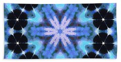 Painted Cymatics 108.00hz Hand Towel