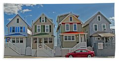 Painted Ladies Of Somers Point Hand Towel