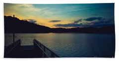Paintsville Lake Hand Towel by Lena Auxier