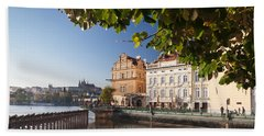 Palace And Museum At The Riverside Bath Towel