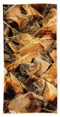 Palm Bark Bath Towel