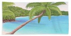 Palm In Paradise Bath Towel