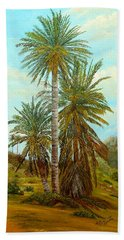 Palm Trees Bath Towel