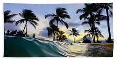 Palm Wave Bath Towel