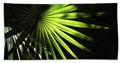 Palmetto And Rays Bath Towel