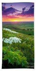 Palouse Flowers Hand Towel