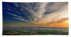Palouse Sunset Bath Towel