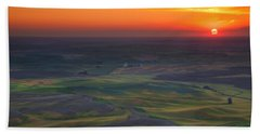 Palouse Sunset Bath Towel