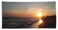 Panama City Beach Sunset Bath Towel