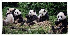 Pandas In China Hand Towel