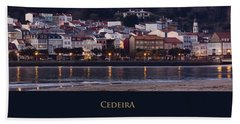 Panorama Of Cedeira Galicia Spain Hand Towel