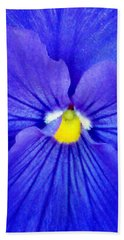 Pansy Flower 37 Hand Towel