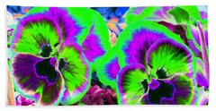 Pansy Power 60 Hand Towel