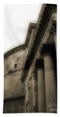 Hand Towel featuring the photograph Pantheon by Angela DeFrias
