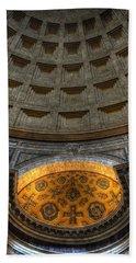 Pantheon Ceiling Detail Hand Towel