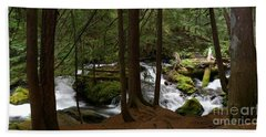 Panther Creek Panorama- Washington Hand Towel