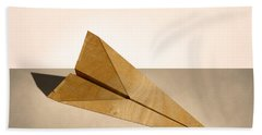 Paper Airplanes Of Wood 15 Hand Towel