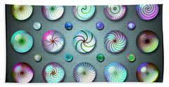 Paperweights And Marbles Bath Towel