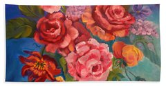 Parade Of Roses 11 Hand Towel