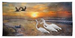 Paradise Dreamland  Hand Towel by Betsy Knapp