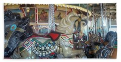 Paragon Carousel Nantasket Beach Bath Towel
