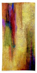 Hand Towel featuring the painting Parallel Dreams by Jim Whalen