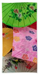 Parasols 2 Hand Towel by Rodney Lee Williams
