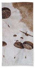 Paratroopers Hand Towel