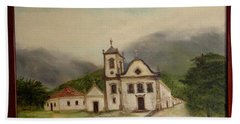 Paraty Church  Hand Towel