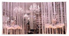 Paris Repetto Ballerina Tutu Shop - Paris Ballerina Dresses Window Display  Hand Towel