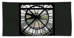 Paris Time Bath Towel by Ann Horn