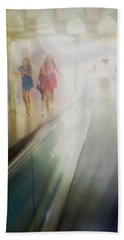 Party Girls Bath Towel by Alex Lapidus