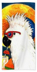 Party Parrot 1 Bath Towel
