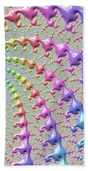 Pastel Drizzle Hand Towel