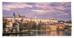 Pastel Prague Morning Bath Towel