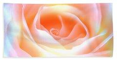 Pastel Rose Hand Towel