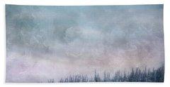 Pastel Skies Hand Towel