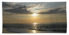 Pastel Sunrise Bath Towel